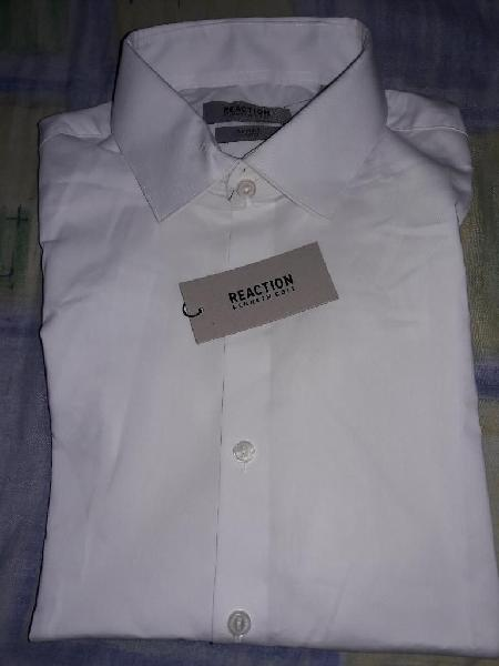 Camisa Blanca Kenneth Cole Talla M