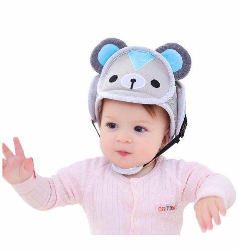 Gorrito Antigolpes Para Bebé Modelo Osito Marca Doubmall