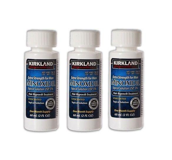 Kirkland Minox Minoxidil Barba Cabello