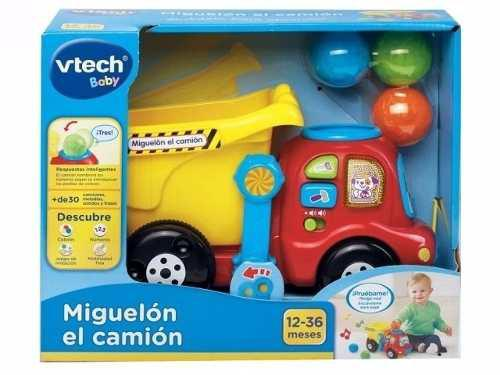 Juguete Interactivo Miguelón El Camión Musical Vtech