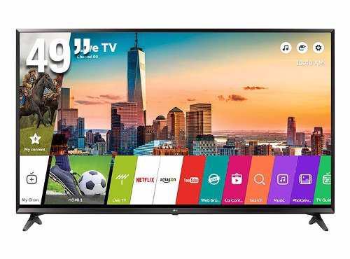 Televisor Lg 49uk6200 Ultra Hd 4k Smart Web Os 3.5