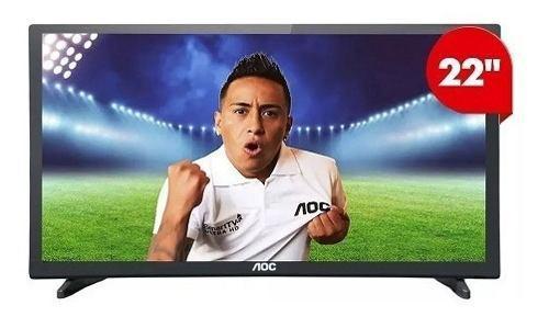 Televisor Monitor Aoc Led 22 Full Hd 1080p 22m3085 Negro