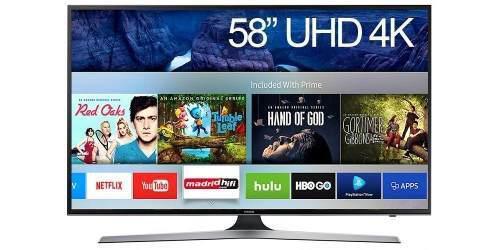 Televisor Samsung Smart Tv 58 - Uhd - 4k - Serie 6