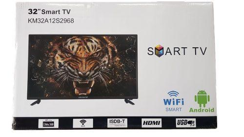 Tv Led 32 Kingmaster Hd Android Km32a12s2968 Smart Tv Wifi