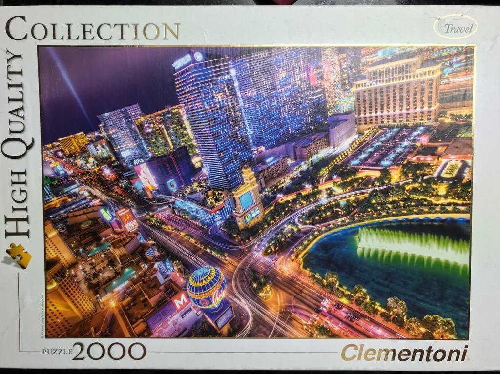 Rompecabezas Clementoni Las Vegas Strip