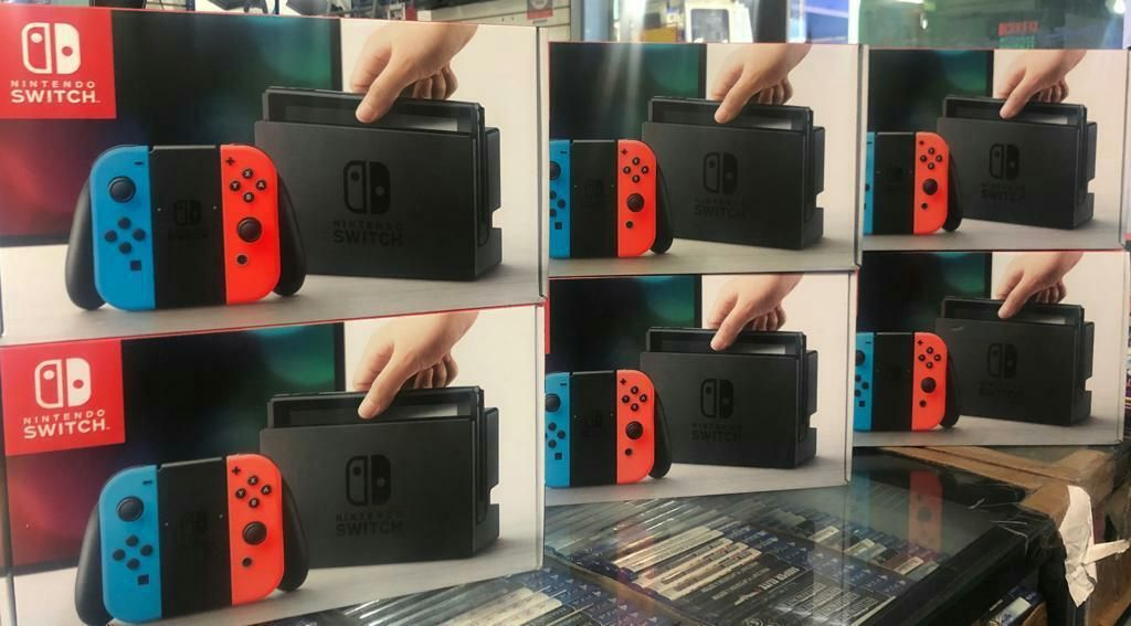 Consola Nintendo Switch Nuevo Sellado Stock