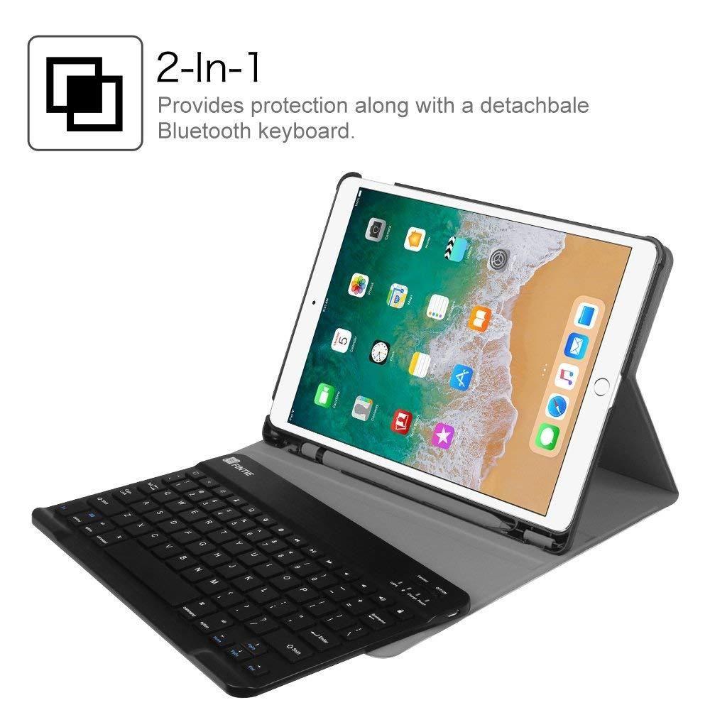 Fintie Book Cover Keyboard Teclado para ipad pro 10.5 A