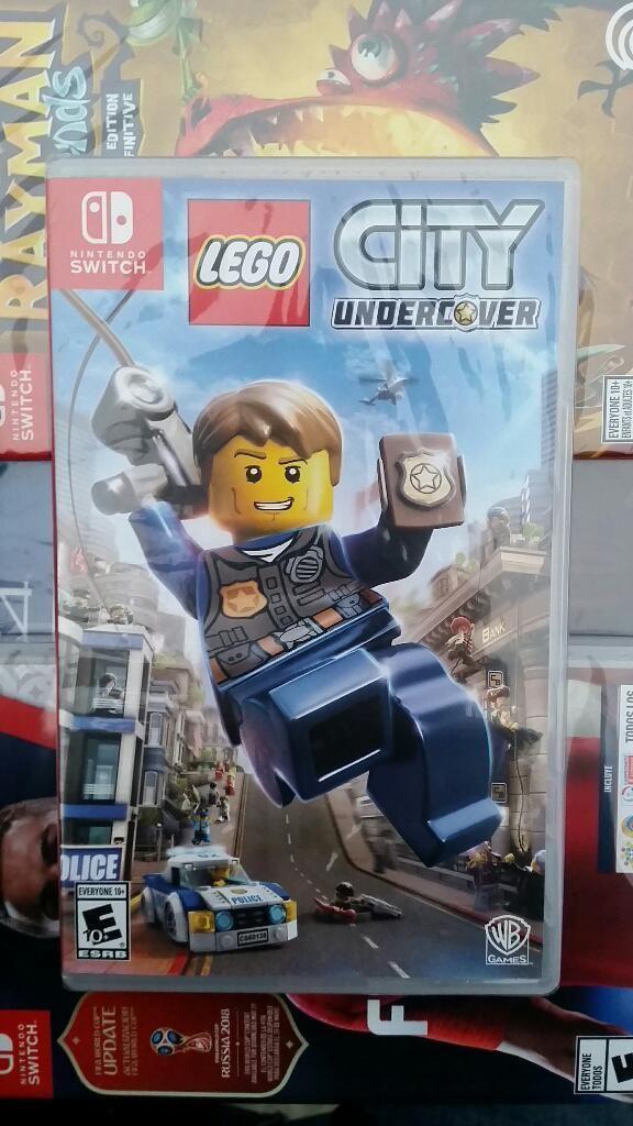 Lego City Undercover Nintendo Switch Nuevo y Sellado Stock