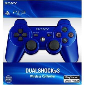 Mando Para Ps3 Playstation 3 Genérico Nuevo Con Caja - Azul