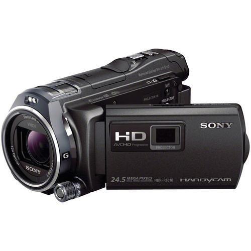 Videocámara semipro Sony HDR-PJ810 Handycam Full HD de 32GB