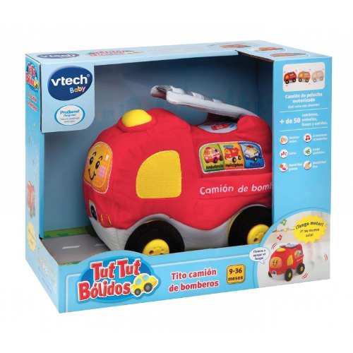 Juguete Interactivo Tito Camión De Bomberos Para Bebes