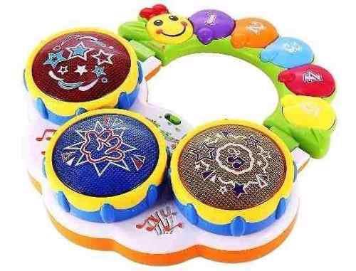 Tambor Musical Didáctico Para Bebes