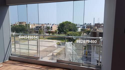 Mamparas De Vidrio Templado Ventanas De Aluminio Techos