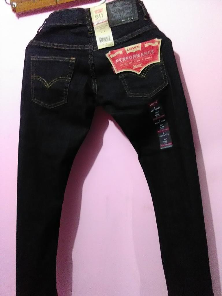 Pantalon Levis Slim Talla8 Reg