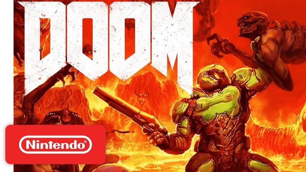 Doom nintendo switch no mario zelda pokemon