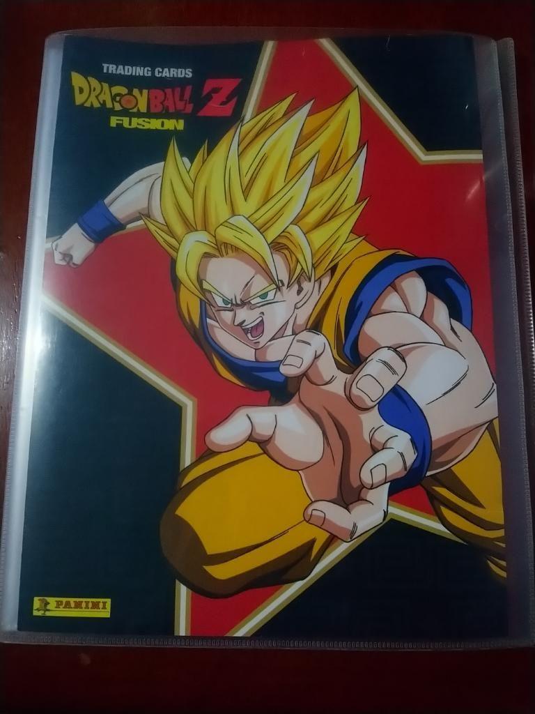 Dragon Ball Z Fusion Panini (original)