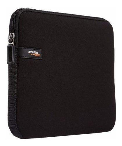 Funda Amazonbasics 10 Para iPad Y Kindle De Neopreno Negro