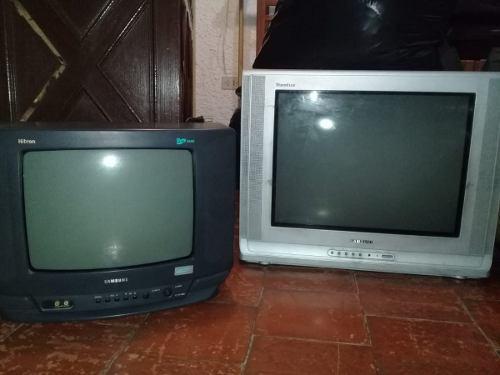 Oferta 2x1 Tv De 21 + Tv 14 Al Precio De Uno