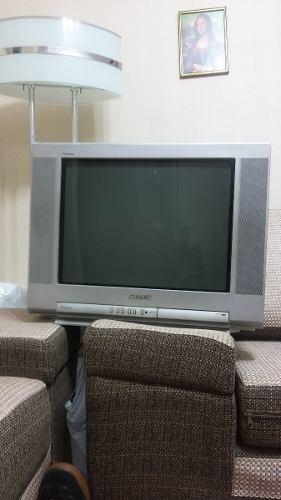 Vendo Televisor Sony Triniton De 21 Pulgadas Operativo 100%