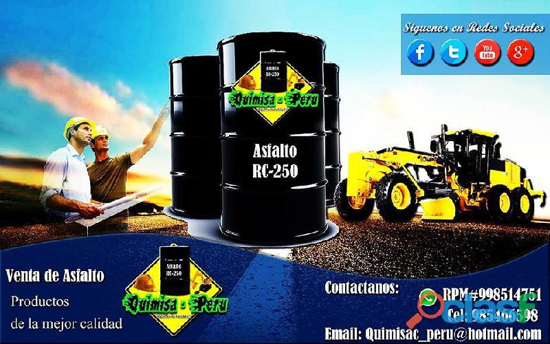 Venta De Emulsion Asfaltica 998514751