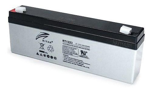 Bateria 12v 2.3ah Recargable P/ups, Alarma Ritar Rt1223