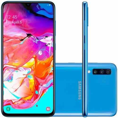 Samsung Galaxy A70 128gb 6gb Ram Nuevo Y Sellado, Garantia