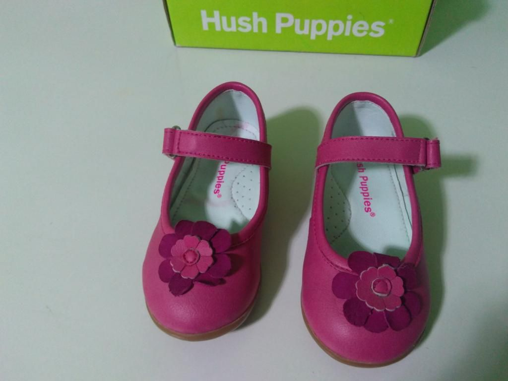 Zapatos Niña Hush Puppies Nuevas Tall.21