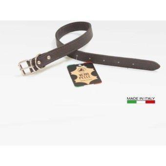 Collar Para Perros De Cuero Italiano Vitello 3 X 60 Cm