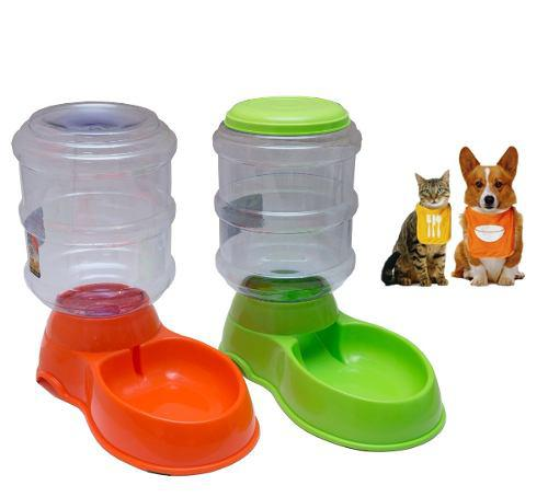 Dispensador Automático De Alimentos Y Agua Para Mascotas