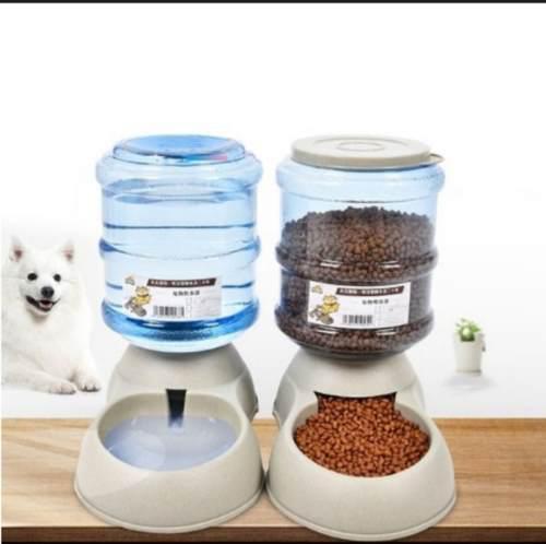 Dispensador De Agua Y Alimentos Para Mascotas Oferta!