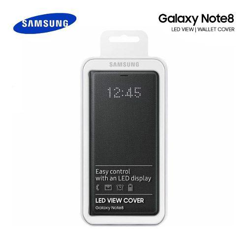 Flip Cover Original Samsung Galaxy Note 8 Led View Cover