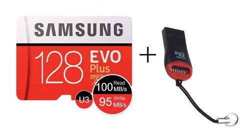 Memoria Micro Sd Samsung Evo Plus 128 Gb, 100% Original