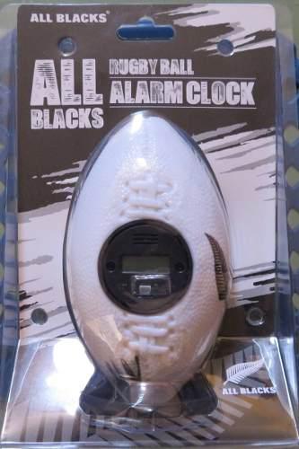 Reloj Despertador Rugby All Blacks