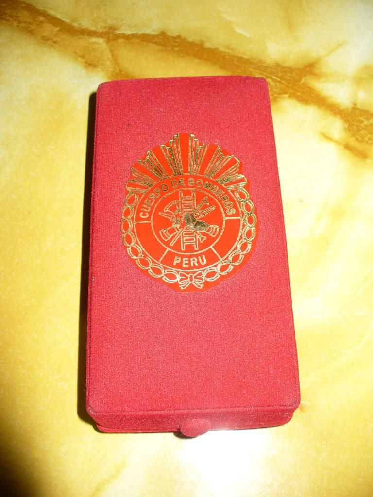 Medalla al Merito Cuerpo de Bomberos