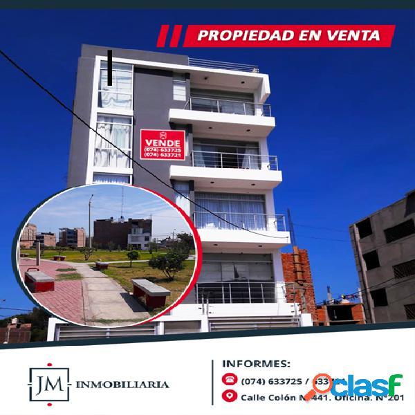 VENTA DE DEPARTAMENTO - URB. LOS SAUCES