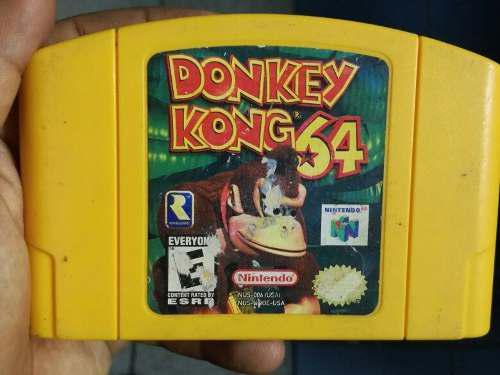 Donkey Kong 64 (Original Y En Buen Estado)