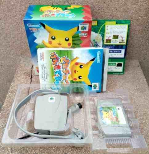Hey Pikachu Genki Dechu - Nintendo 64 Japan