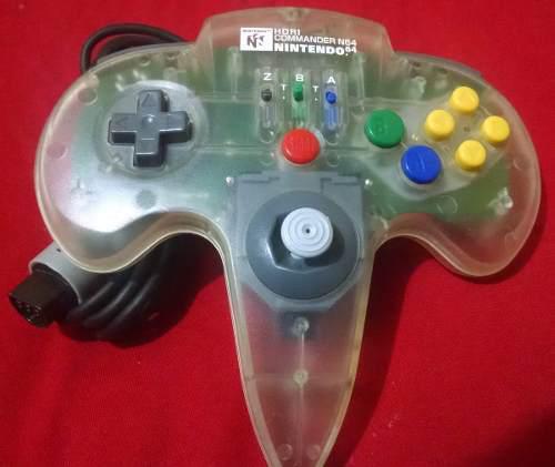 Mando Hori Para Nintendo 64 N64 Abuelogamer