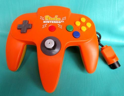 Mando Nintendo 64, Edicion Pikachu !!!