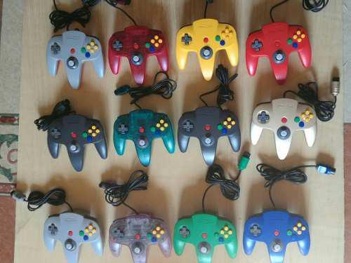 Mandos Originales N64 / Controles Nintendo N64