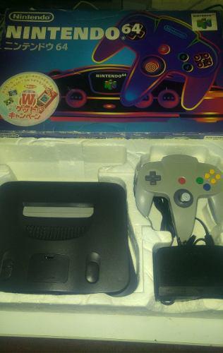 Nintendo 64 En Caja