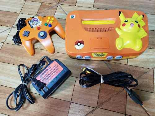 Nintendo 64 N64 Pikachu Orange