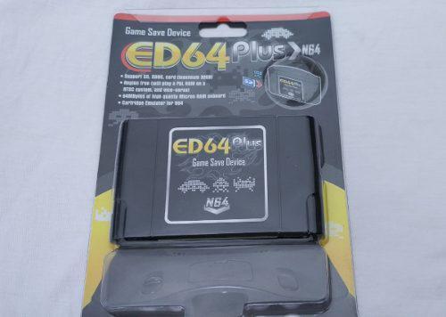 Nintendo 64 Sd Ed64 Plus N64 Con Juegos