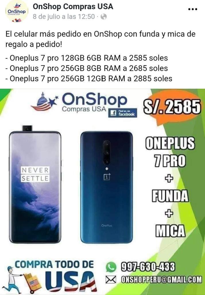 Oneplus 7 Pro - El Celular Más Potente