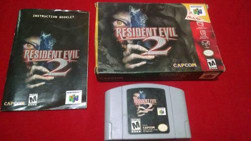 Resident Evil 2 En Caja Original Nintendo 64 N64 Abuelogamer