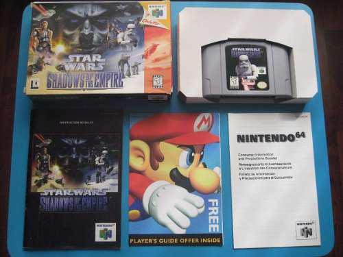Star Wars Shadows Of The Empire Nintendo 64 Completo