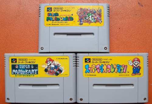 Super Mario Bros Collecion Snes Nintendo Famicon