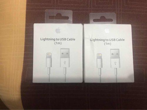 Cable De Datos Apple - Original Traído De Usa