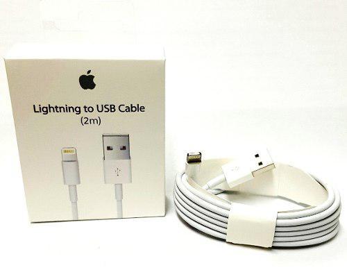 Cable Usb 8pin Lightning P/ Iphone5g 5s 5c 2metros Original
