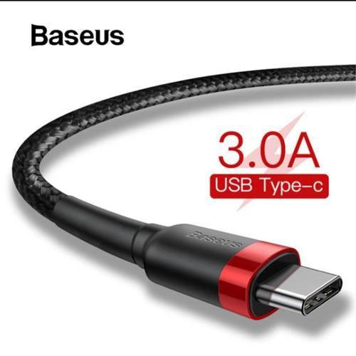 Cable Usb C Baseus 2 Metros Carga Rápida Para Celular